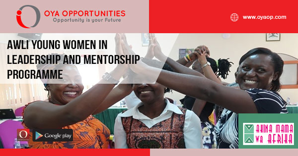 AWLI Young Women in Leadership and Mentorship Programme