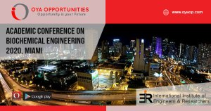 Academic Conference 2020 on Biochemical Engineering