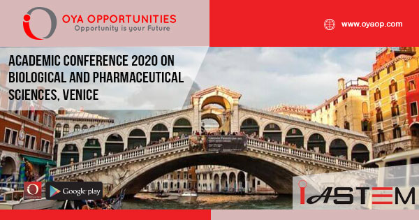 Academic Conference 2020 on Biological and Pharmaceutical Sciences