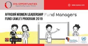 African Women Leadership Fund (AWLF) Program 2019