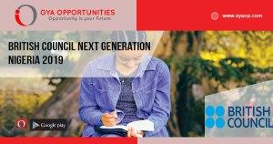 British Council Next Generation Nigeria 2019