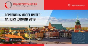 Copernicus Model United Nations (CoMUN) 2019