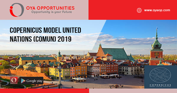 Copernicus Model United Nations (CoMUN) 2019