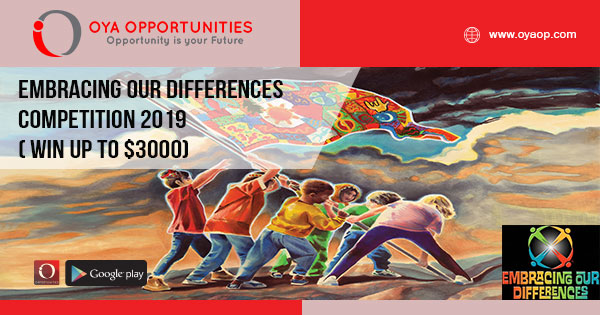 Embracing Our Differences Competition 2019 ( Win up to $3000)