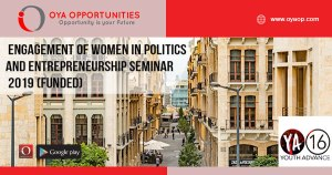 Engagement of Women in Politics and Entrepreneurship Seminar 2019 (Funded)