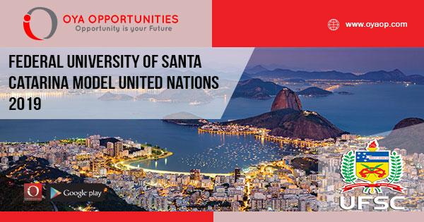 Federal University of Santa Catarina Model United Nations 2019