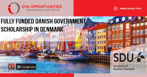 Fully Funded Danish Government Scholarship in Denmark