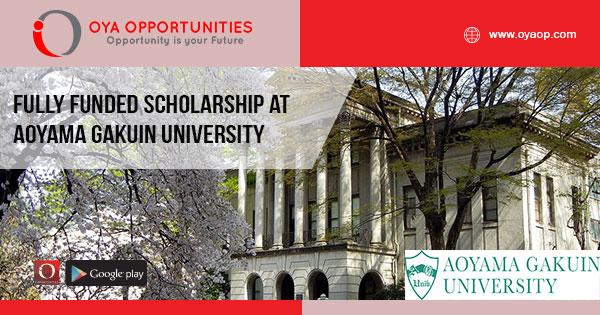 Fully Funded scholarship at Aoyama Gakuin University