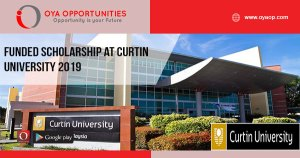 Funded Scholarship at Curtin University 2019