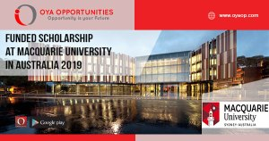 Funded Scholarship at Macquarie University in Australia 2019