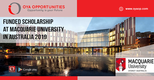 Funded Scholarship at Macquarie University in Australia 2019