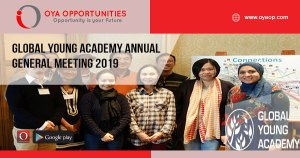 Global Young Academy Annual General Meeting 2019