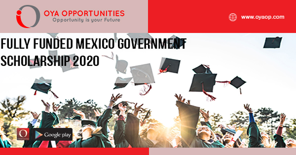 Fully Funded Mexico Government Scholarship 2020