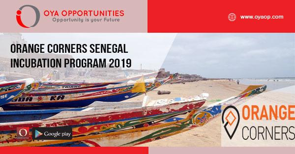 Orange Corners Senegal Incubation Program 2019