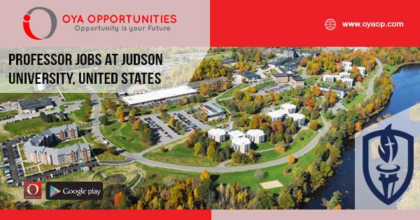 Professor jobs at Judson University