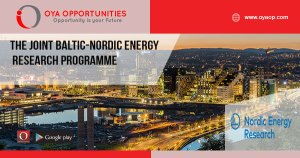 The joint Baltic-Nordic Energy Research programme