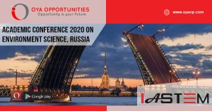 Academic Conference 2020 on Environment Science