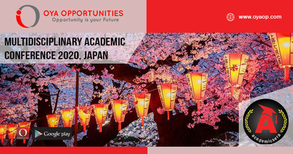 Multidisciplinary Academic Conference 2020, Japan