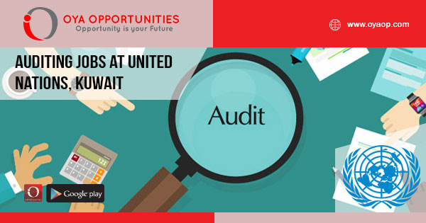 Auditing jobs at United Nations, Kuwait