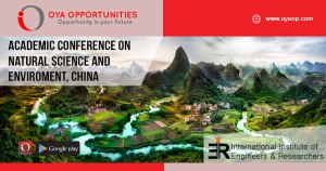 Academic Conference 2020 on Natural Science and Enviroment
