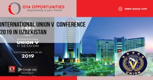International Union V Conference 2019 in Uzbekistan
