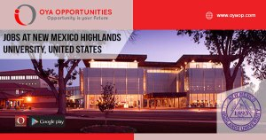 Jobs at New Mexico Highlands University