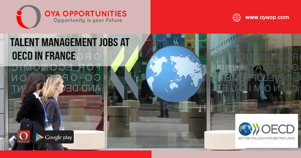 Management jobs at OECD in France