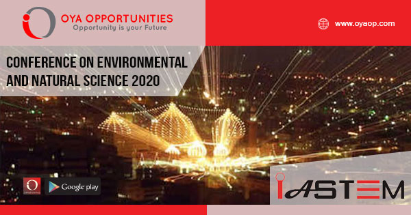 Conference on Environmental and Natural Science 2020 Pakistan