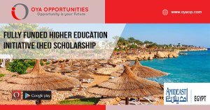 Fully Funded Higher Education Initiative (HEI) Scholarship