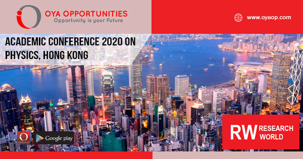 Academic Conference 2020 in Physics, Hong Kong