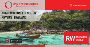 Academic Conference on Physics and Mathematics 2020 Thailand