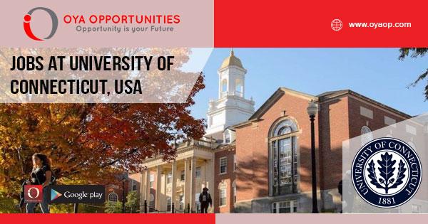 Professor jobs at University of Connecticut, USA
