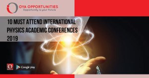 10 Must Attend International Physics Academic Conferences 2019
