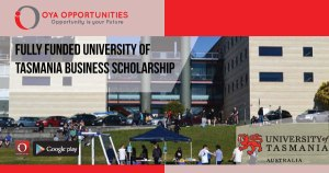Fully Funded University of Tasmania Business Scholarship
