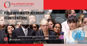 Public Information Internship at United Nations