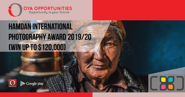 Hamdan International Photography Award 2019/20 (Win up to $120,000)