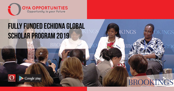 Fully Funded Echidna Global Scholar Program 2019