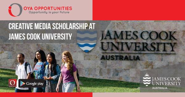 Creative Media Scholarship at James Cook University