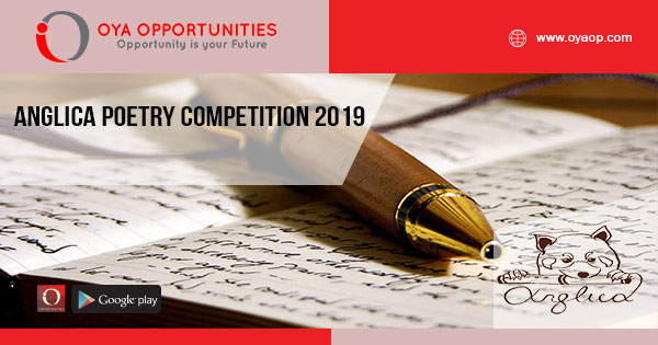 Anglica Poetry competition 2019