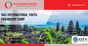 Bali International Youth Friendship Camp