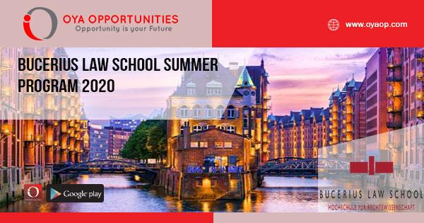 Bucerius Law School Summer Program 2020