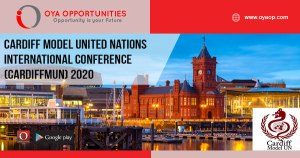 Cardiff Model United Nations International Conference (CardiffMUN) 2020