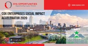 Cox Enterprises Social Impact Accelerator 2020
