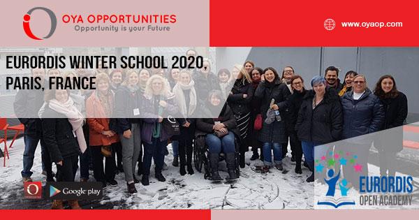 EURORDIS Winter School 2020, Paris, France