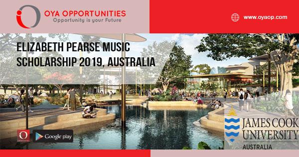 Elizabeth Pearse Music Scholarship 2019, Australia