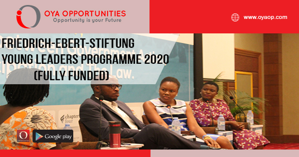 Fully Funded Friedrich-Ebert-Stiftung Young Leaders Programme 2020