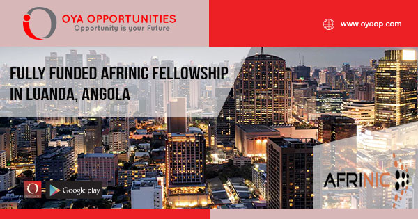 Fully Funded AFRINIC Fellowship in Luanda, Angola