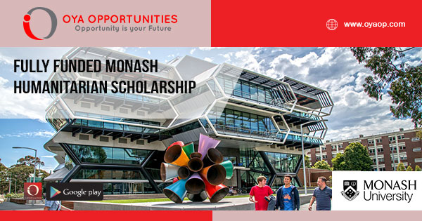 Fully Funded Monash Humanitarian Scholarship