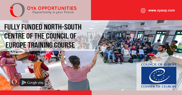 Fully Funded North-South Centre of the Council of Europe Training Course