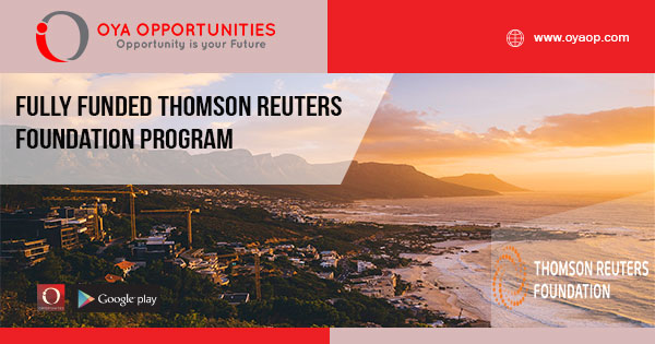 Fully Funded Thomson Reuters Foundation Program